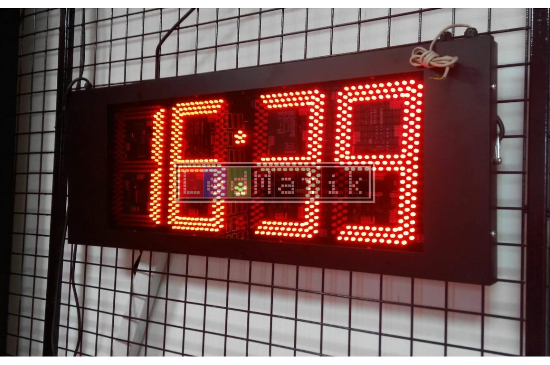 24Cm 4digit Sensör-Kuru Kontak-Buton-Rf-Pc-Plc Kontrollü Led Sayıcılar