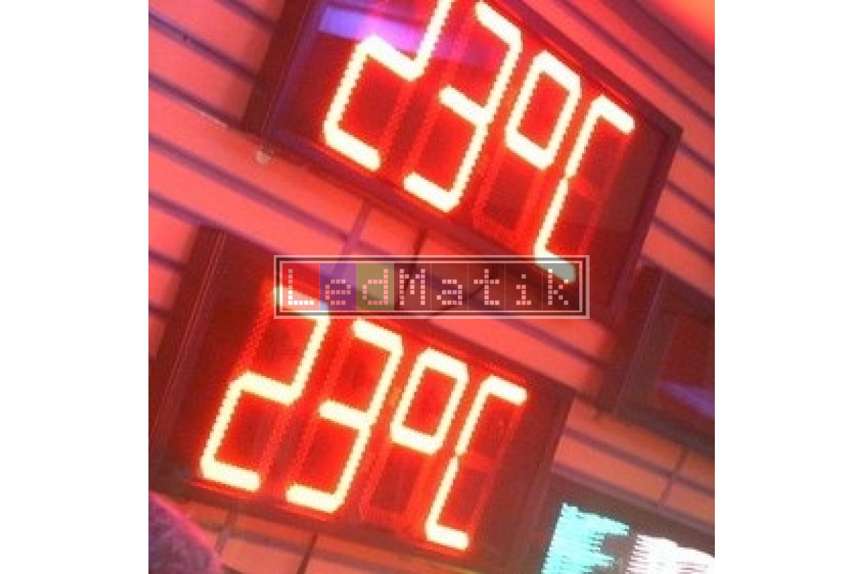 30Cm 4digit Sensör-Kuru Kontak-Buton-Rf-Pc-Plc Kontrollü Led Sayıcılar