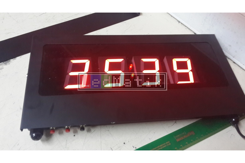 57mm 4digit Sensör-Kuru Kontak-Buton-Rf-Kontrollü Led Sayıcılar